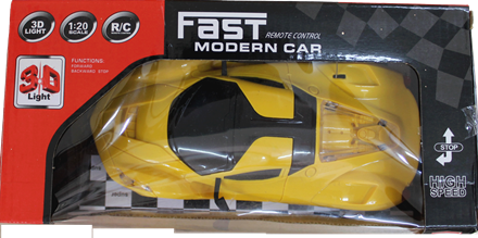 REMOTE CONTROL FAST MODERN CAR 3D LIGHT REMOTE CONTROL FAST MODERN CAR 3D LIGHT